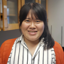 headshot of graduate student Peggy Chang
