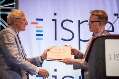 Dr. Abraham Hartzema, Emeritus Professor and Past Perry A. Foote Eminent Scholar received the ISPE Sustained Service Award. This award is granted to individuals who have made a significant and sustained service to the society.